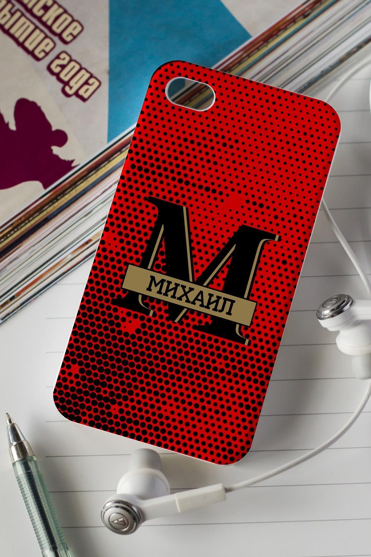 Чехол для iphone 4/4S с вашим текстом MANСувениры и упаковка<br>Украсьте свой смартфон оригинальным чехлом с чудесной картинкой и Вашим именем! Порадуйте такими необыкновенными подарками друзей и любимых, восторг гарантирован! Выберите понравившийся дизайн и впишите имя получателя подарка. Материал: пластик (для iPhone 4/4S)<br>