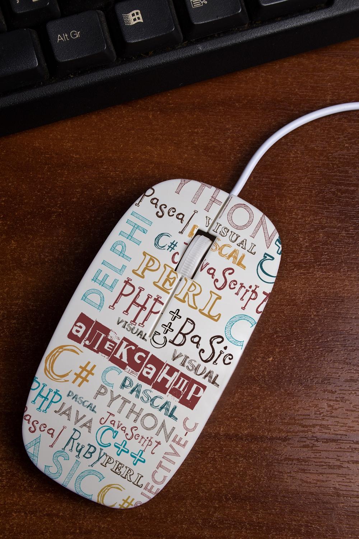Мышь компьютерная с Вашим текстом
