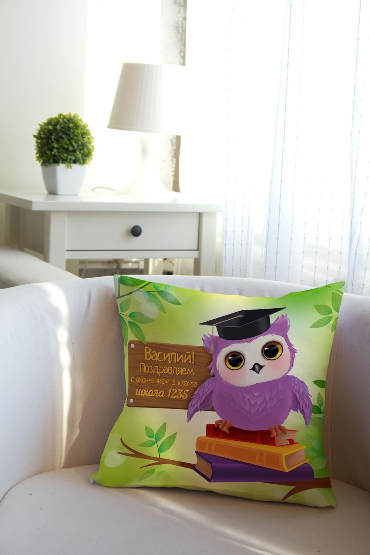 Подушка декоративная с Вашим именем Выпускнику подушка декоративная с вашим именем новогоднее меню