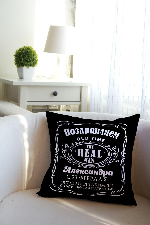 Подушка декоративная с Вашим именем ДжекИнтерьер<br>Подушка декоративная, 35*35см, габардин, с нанесением персонального текста<br>