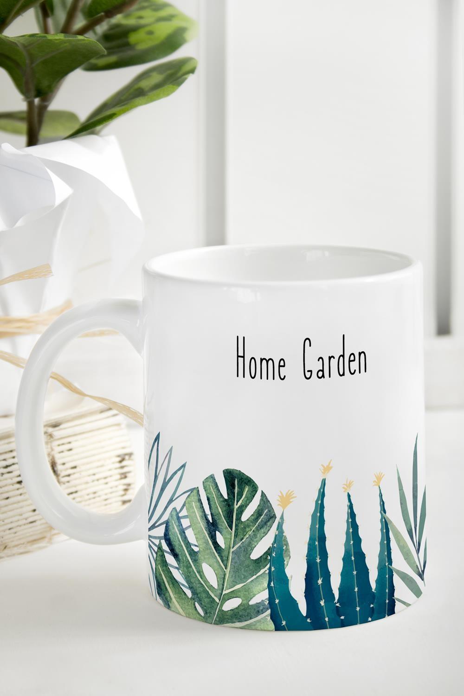Кружка Home gardenПосуда<br>Кружка с именем и эксклюзивным оформлением -стильный, красивый и оригинальный подарок для себя и друзей! Размер: 310мл, Выс=9.5см. Материал: керамика<br>