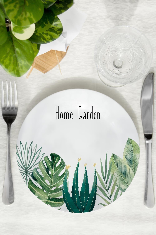 Тарелка декоративная Home gardenПосуда<br>Декоративная тарелка станет эксклюзивным украшением для интерьера и незабываемым подарком! Диаметр 20см<br>