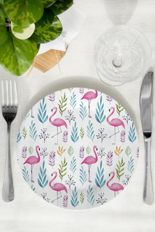 Тарелка декоративная ФламингоПосуда<br>Тарелка диаметром 20см.<br>