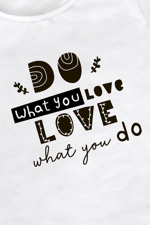 "Футболка женская ""Do what you love"""