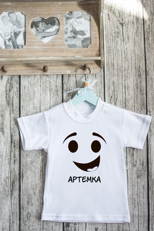 Футболка детская с вашим текстом Boo!Подарки ко дню рождения<br>100% хлопок, белая, с нанесением текста. Товар является маломерным<br>