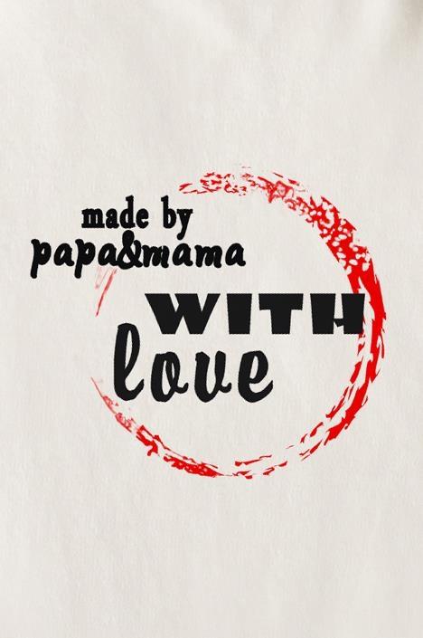 "Боди для малыша ""Made with love"""