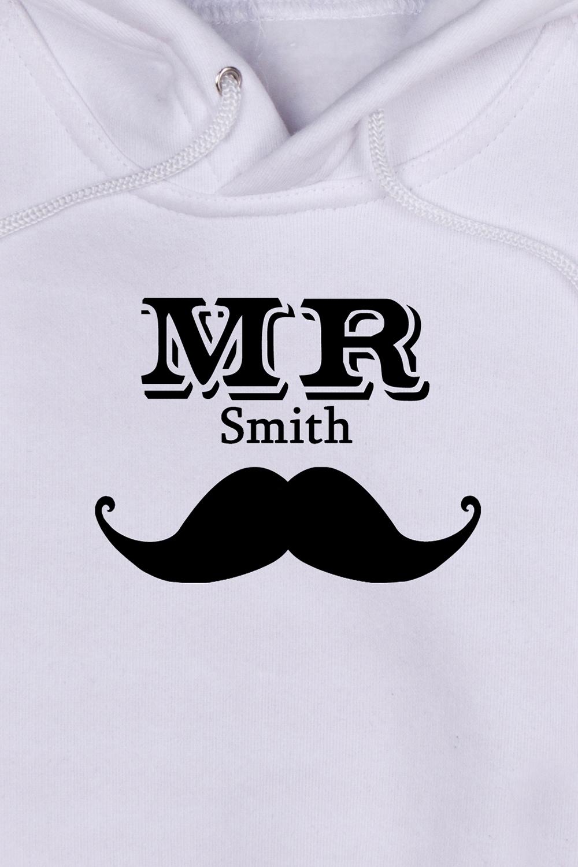"""Толстовка  детская с Вашим текстом """"Mr & Mrs Smith"""""""