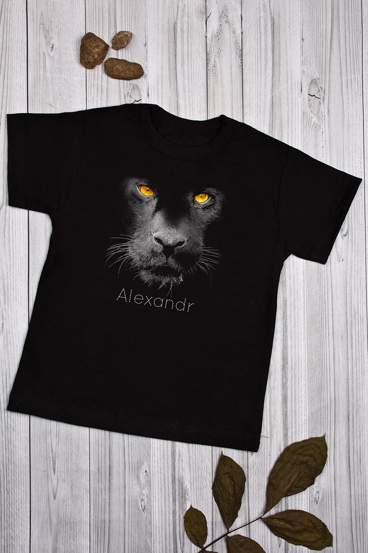 Футболка детская с вашим текстом Black catМаски и костюмы для Хэллоуина<br>100% хлопок, черная, с нанесением текста.<br>