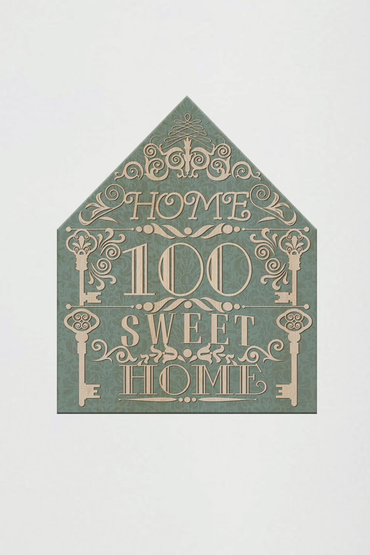 Табличка на дверь с вашим текстом Кружевной домикУкрашения на стену<br>Табличка с номером Вашей квартиры/дома, 19,5см*16см, дерево<br>