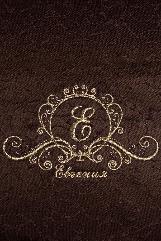 """Набор салфеток с именной вышивкой """"Фамильный герб"""", коричневый - 3"""